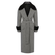 Шерстяное пальто Escada