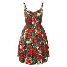 Платья Dolce & Gabbana Платье из смеси хлопка и вискозы Dolce & Gabbana