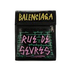 Сумки-мессенджеры Balenciaga Кожаная сумка Explorer Balenciaga