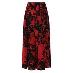 Юбки Valentino Шелковая юбка Valentino