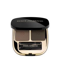 Палетки для бровей Dolce & Gabbana Набор теней для коррекции бровей, оттенок 2 Natural Brunette Dolce & Gabbana