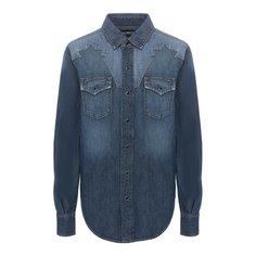 Джинсовая рубашка Saint Laurent