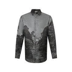 Шелковая рубашка Brioni