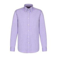 Рубашки Ralph Lauren Хлопковая сорочка с воротником button down Ralph Lauren