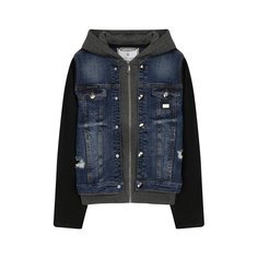 Куртки Philipp Plein Хлопковая куртка с капюшоном Philipp Plein