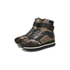 Кожаные ботинки Baldan