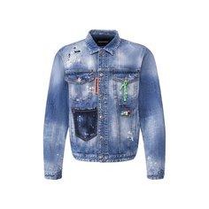 Куртки Dsquared2 Джинсовая куртка Dsquared2