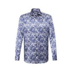 Рубашки Zilli Рубашка из смеси хлопка и шелка Zilli