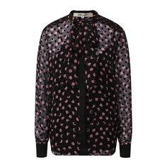 Блузы Diane Von Furstenberg Блузка из смеси шелка и вискозы Diane Von Furstenberg