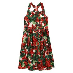 Платья Dolce & Gabbana Хлопковый сарафан Dolce & Gabbana