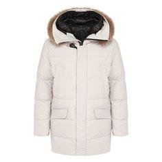 Куртки Montecore Пуховик с меховой отделкой Montecore