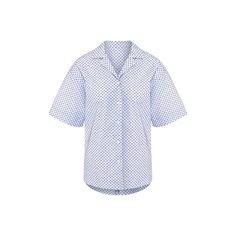 Блузы Escada Хлопковая рубашка Escada