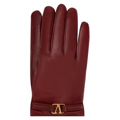 Перчатки Valentino Кожаные перчатки Valentino Garavani Valentino