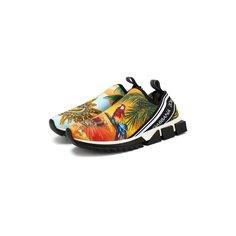 Кроссовки Dolce & Gabbana Текстильные кроссовки Dolce & Gabbana