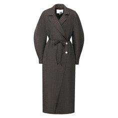Пальто Ganni Пальто с поясом Ganni