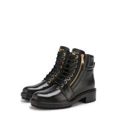 Ботинки Balmain Кожаные ботинки Army на шнуровке Balmain