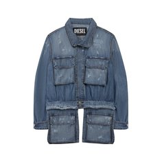 Куртки Diesel Джинсовая куртка Diesel