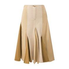 Юбки Lanvin Хлопковая юбка Lanvin
