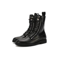 Ботинки и полусапоги Balmain Кожаные ботинки Balmain