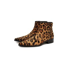 Кожаные ботинки Zanzara Dolce & Gabbana