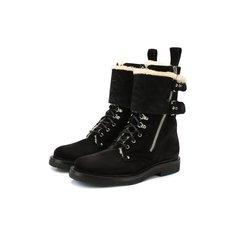 Ботинки и полусапоги Balmain Замшевые ботинки Nick Balmain