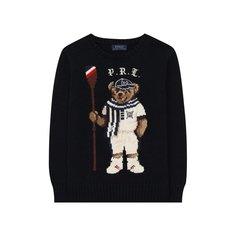 Хлопковый пуловер Polo Ralph Lauren