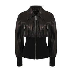 Куртки Dolce & Gabbana Кожаная куртка Dolce & Gabbana