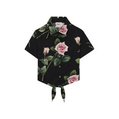 Блузы Dolce & Gabbana Хлопковая блузка Dolce & Gabbana