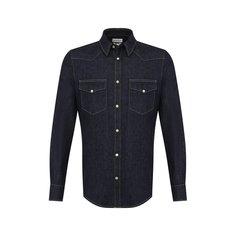 Рубашки Alexander McQueen Хлопковая рубашка Alexander McQueen