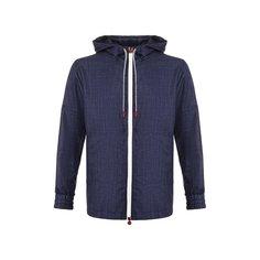 Куртки Kiton Куртка из смеси кашемира и шелка Kiton