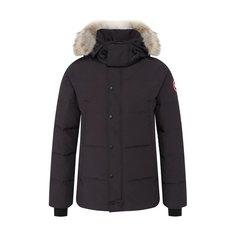 Куртки Canada Goose Пуховик Wyndham с меховой отделкой Canada Goose