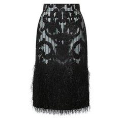 Юбки Ganni Хлопковая юбка Ganni