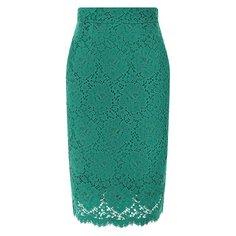 Юбки Dolce & Gabbana Кружевная юбка Dolce & Gabbana