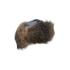 Шапка-ушанка с отделкой из меха лисы Brunello Cucinelli