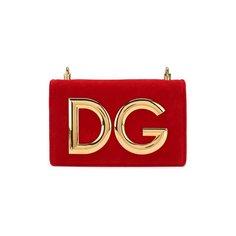 Сумки Dolce & Gabbana Сумка DG Girls из бархата Dolce & Gabbana