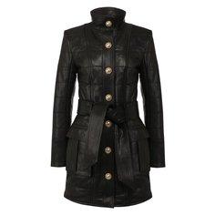 Куртки Balmain Кожаная куртка Balmain