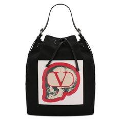 Сумки-шоперы Valentino Текстильная сумка Valentino Garavani x Undercover Valentino