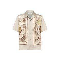 Рубашки Givenchy Шелковая рубашка Givenchy