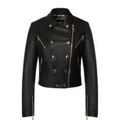 Куртки Dolce & Gabbana Кожаная куртка на молнии Dolce & Gabbana