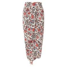 Юбки Isabel Marant Шелковая юбка Isabel Marant