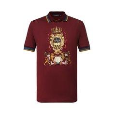 Хлопковое поло Dolce & Gabbana