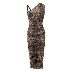 Платья Dolce & Gabbana Платье из смеси хлопка и шелка Dolce & Gabbana