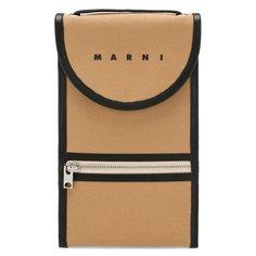 Сумки-мессенджеры Marni Текстильная сумка Marni