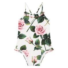 Пляжная одежда Dolce & Gabbana Слитный купальник Dolce & Gabbana