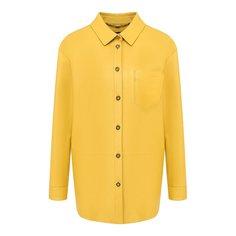 Блузы Escada Кожаная рубашка Escada