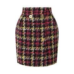 Юбки Versace Шерстяная юбка Versace