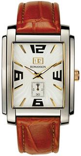 женские часы Romanson TL5140SMC(WH). Коллекция Adel