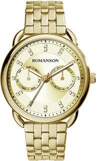 женские часы Romanson RM9A16FLG(GD). Коллекция Giselle