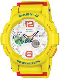 Японские наручные женские часы Casio BGA-180-9B. Коллекция Baby-G