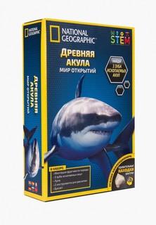 Набор игровой Росмэн Древняя акула. TM National Geographic